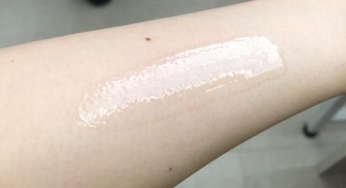 透明白肌薬用Wホワイトエッセンス 伸び