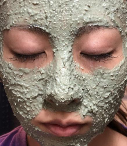 パワーマスク塗り方